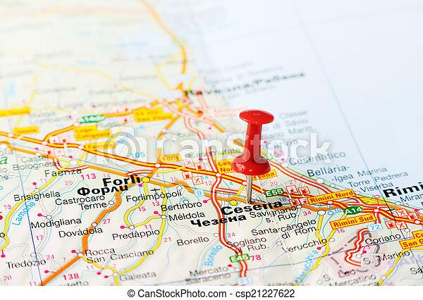 francesca piraccini cesena italy map - photo#30