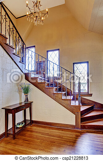 stock de fotos pasillo entrada escalera casa lujo interior