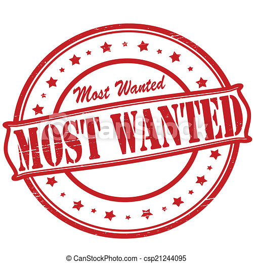 eps vectors of most wanted st with text most wanted inside vector csp21244095 search
