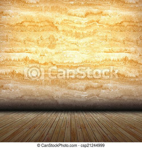 Marble wall interior - csp21244999