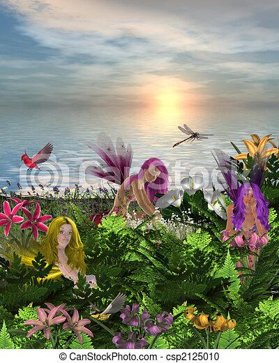Flower Fairies - csp2125010
