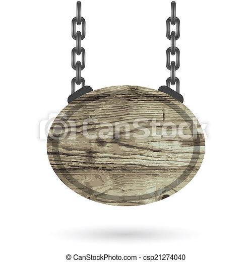 wood sign - csp21274040