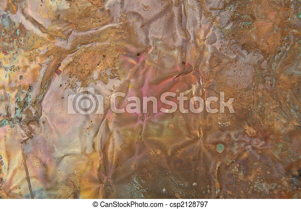 Abstract copper background - csp2128797