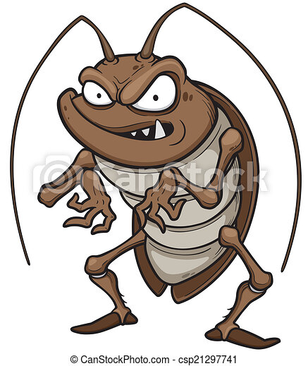 Clip Art Cockroach Clipart cockroaches illustrations and clip art 1683 royalty cockroach vector illustration of cartoon cockroach