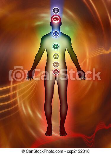 Chakra energy - csp2132318