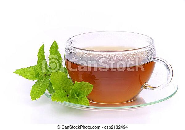 tea Peppermint 02 - csp2132494