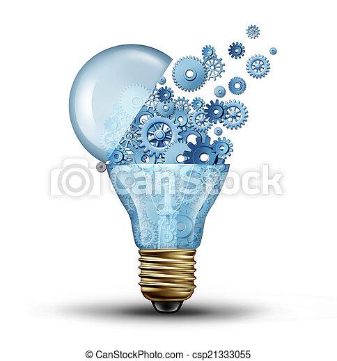 tecnologia, creativo - csp21333055
