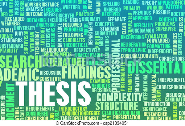 Who owns the copyright of a thesis or dissertation?