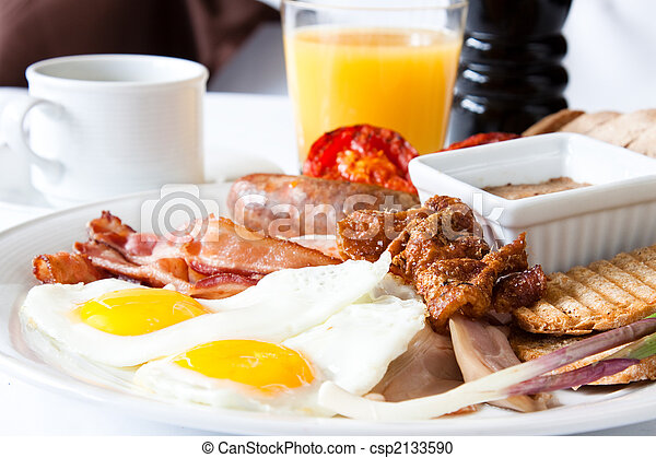 Meat Lover's Breakfast - csp2133590