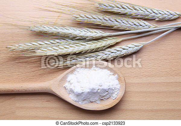 Wheat and flour - csp2133923