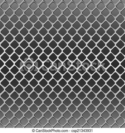 Metal grille - csp21343931