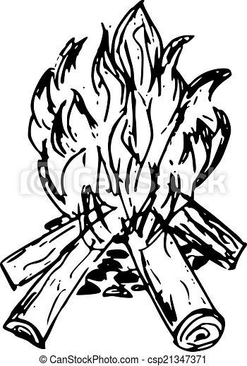 Bonfire Vector Clip Art Royalty Free. 8,504 Bonfire clipart vector ...