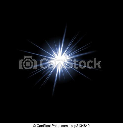 Lens Flare Star Burst - csp2134842