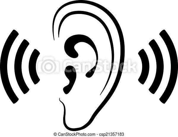 Csp21357183 - Clipart oreille ...