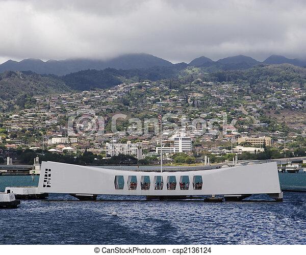 USS Arizona Memorial - csp2136124