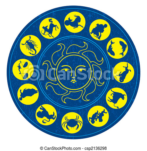 Zodiac signs - csp2136298