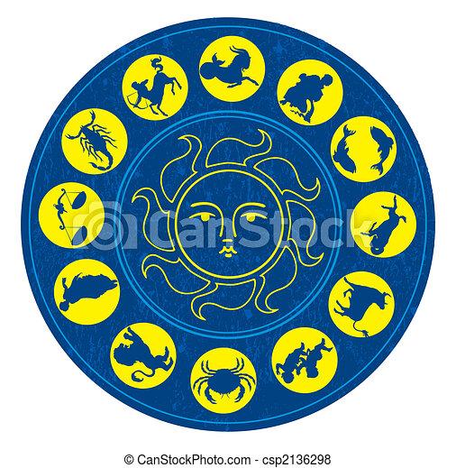 Zodiac signs - csp2136298
