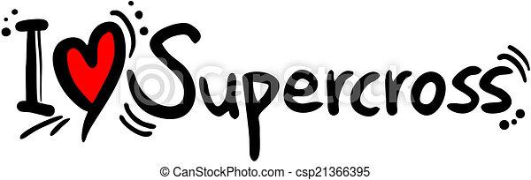 Supercross love - csp21366395