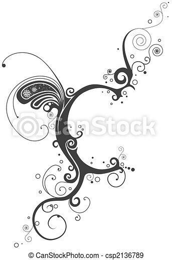 Vines Font - csp2136789