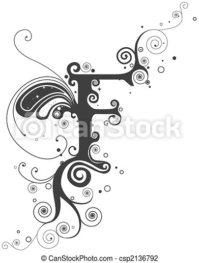 Vines Font - csp2136792