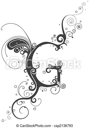 Vines Font - csp2136793