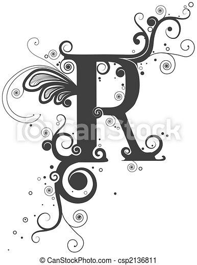 Vines Font - csp2136811