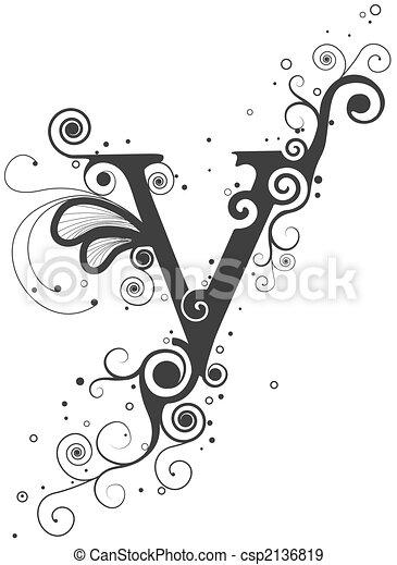 Vines Font - csp2136819