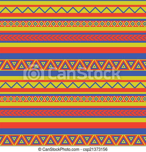 clipart vektor von muster mexiko bright farbig ethnical mexikanisch csp21373156. Black Bedroom Furniture Sets. Home Design Ideas