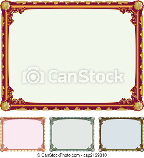 Art deco frame - csp2139310