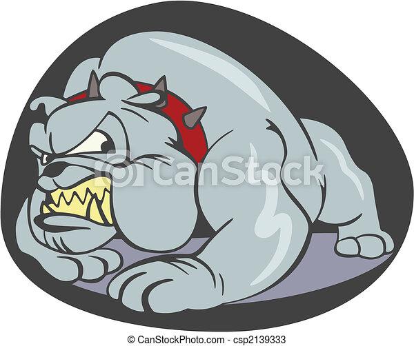 Vecteurs de bouledogue dessin anim cruel chien - Bulldog dessin anime ...
