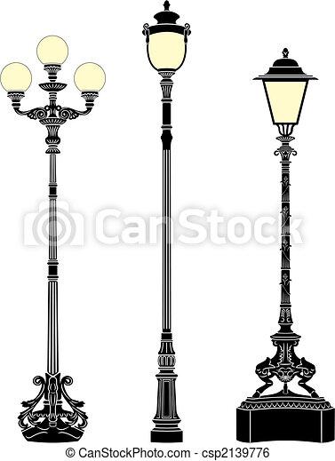 Street lamps - csp2139776