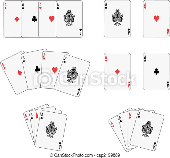 Four aces - csp2139889