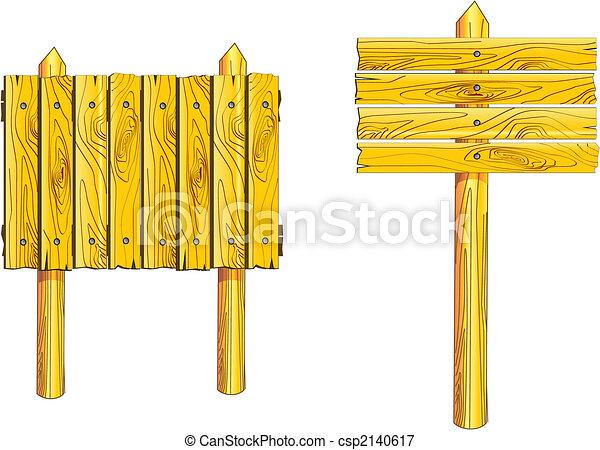 Wood board - csp2140617