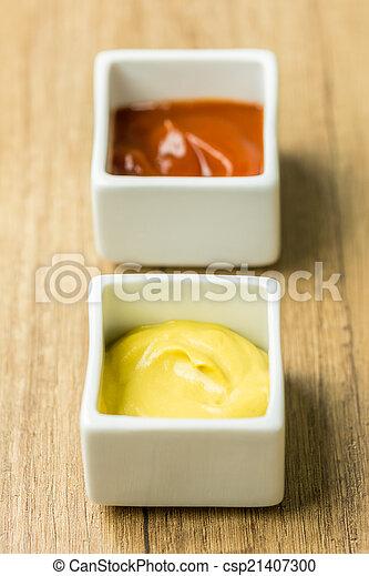Mustard And Ketchup Sauce