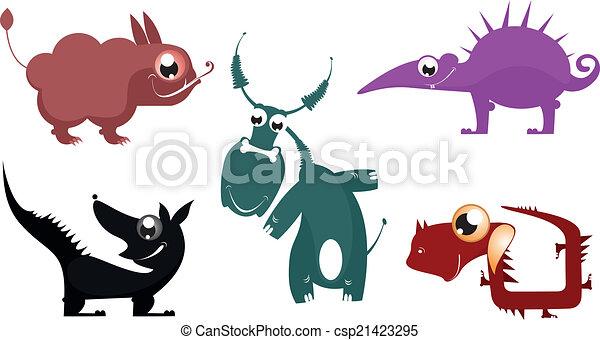 Vettori eps di fantastico vettore cartone animato - Animale cartone animato immagini gratis ...