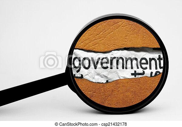 捜索しなさい, 政府 - csp21432178
