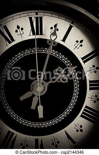 altes, Uhr, Auf, schließen - csp2144346