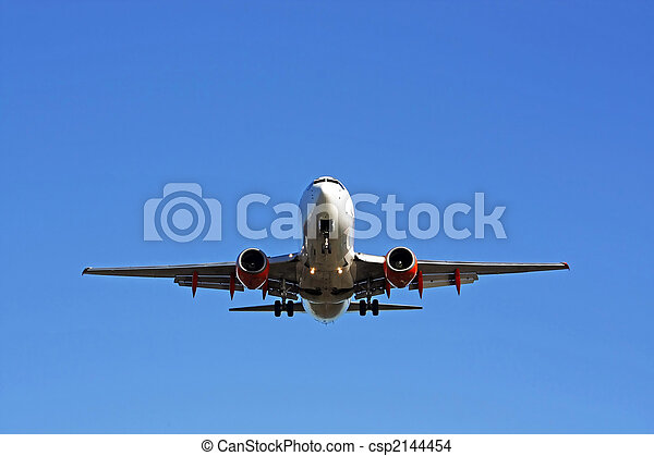 Commercial airplane - csp2144454