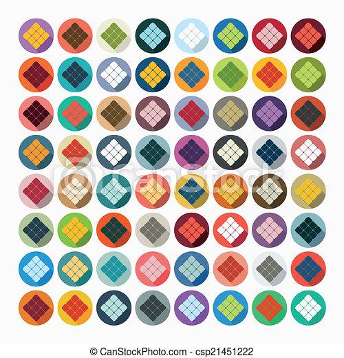 Vektor illustration von wohnung design ketupat for Meine wohnung click design download