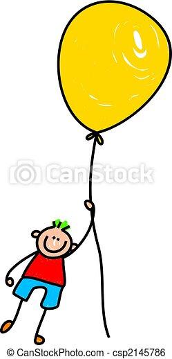 balloon boy - csp2145786