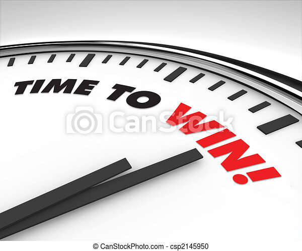 Time to Win - Clock - csp2145950