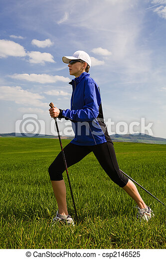nordic walking - csp2146525