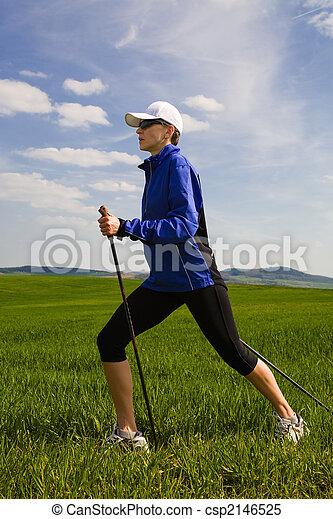 nordic walking - csp2146525