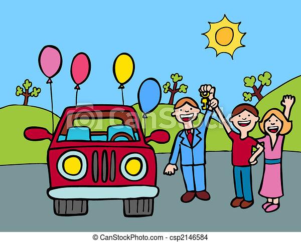 Buy a Car Clip Art – Clipart Download
