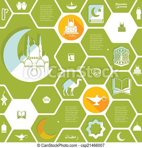 Vektor clipart von wohnung ramadan infographic kareem for Meine wohnung click design download