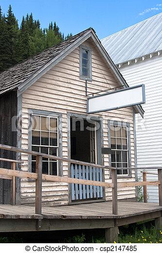 Old historic saloon - csp2147485