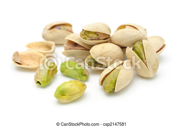 Heap of pistachios nuts - csp2147581
