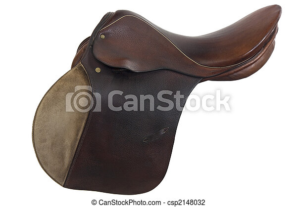 used horse saddle, English style - csp2148032