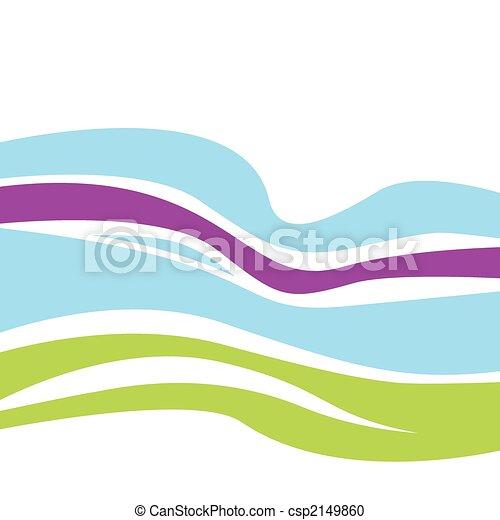 Waves pattern - csp2149860