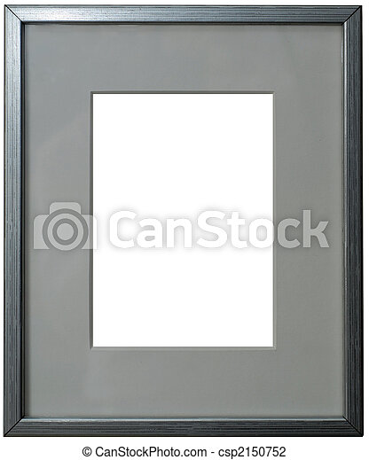 stock foto von rahmen passepartout silber silber rahmen mit csp2150752 suchen sie. Black Bedroom Furniture Sets. Home Design Ideas